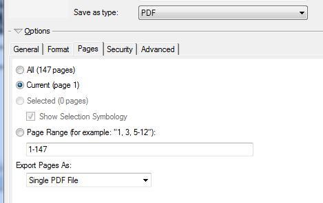 Feature request #12650: atlas - export only certain pages - QGIS