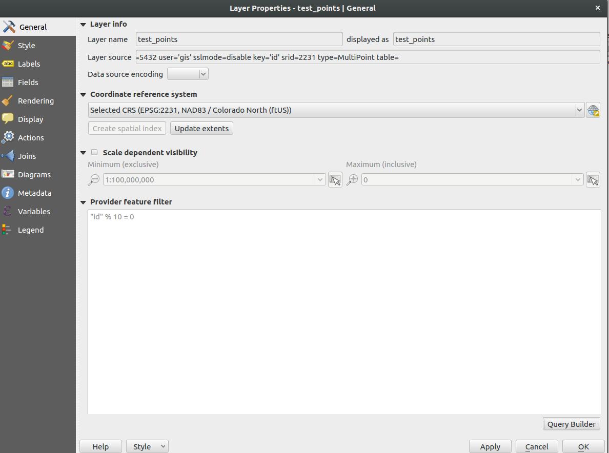 Bug report #16178: GDAL algorithms ignore feature filter