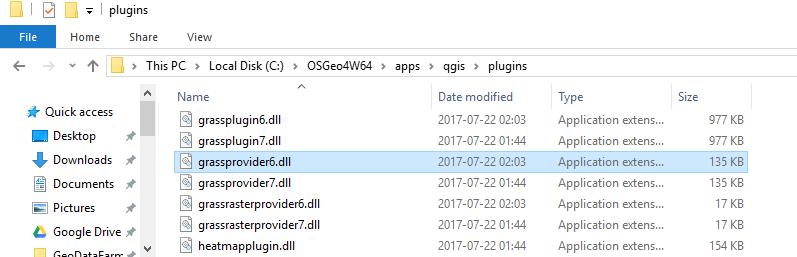 Bug report #16777: GRASS plugin/Processing tools not loading QGIS
