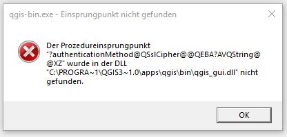 Bug report #19061: QGis does not start up - please help! - QGIS