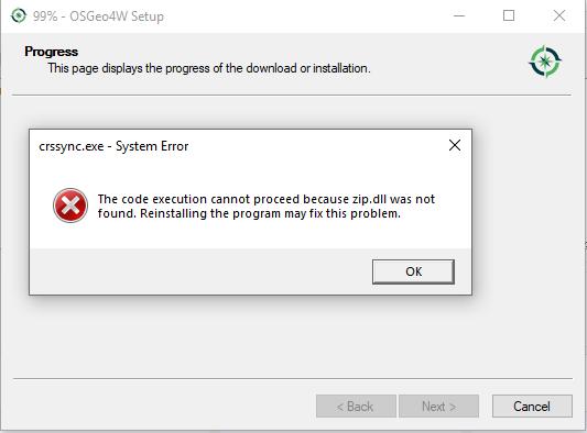 Bug report #20112: error loading QGIS (3.2 and 3.3 nightly) - QGIS
