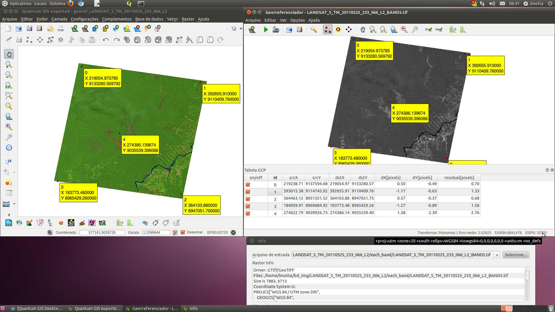 Bug report 2465 georeferencer does not correctly handle files georeferencepathg ccuart Choice Image