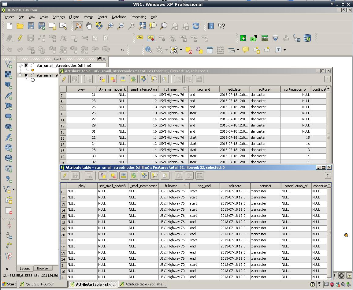 Bug report #8976: Offline Editor not retaining key integer values