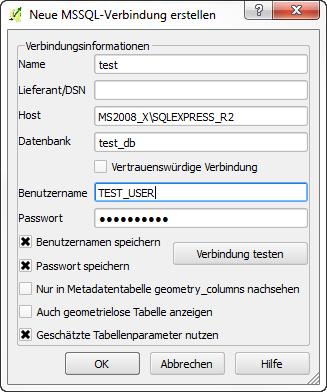 Bug report #10428: MSSQL - Login/Connection error - QGIS