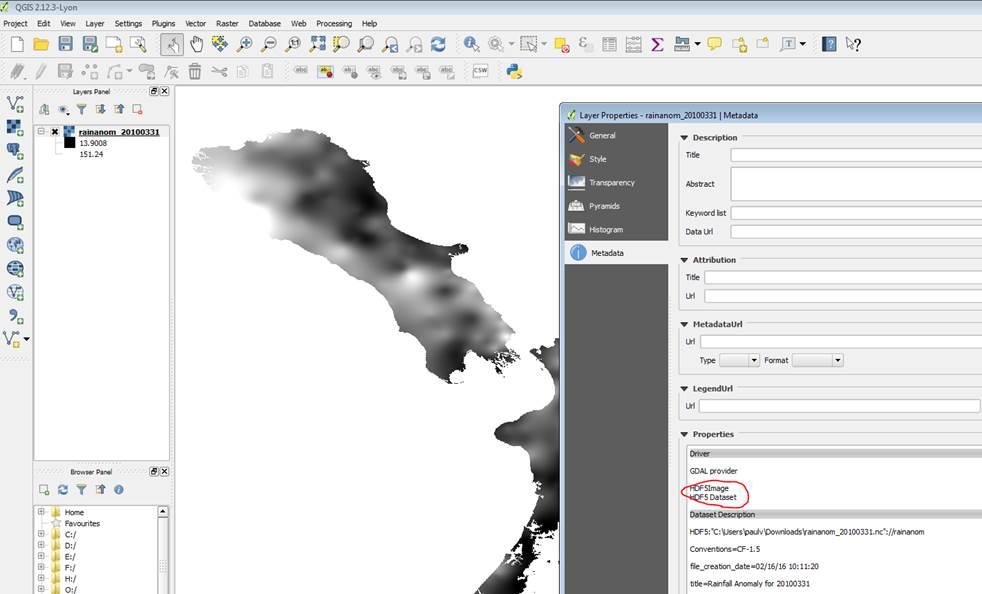 Bug report #14316: QGIS under Windows netCDF import reverses Y axis